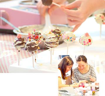 ポップケーキ教室
